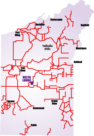 ATV Trail Map