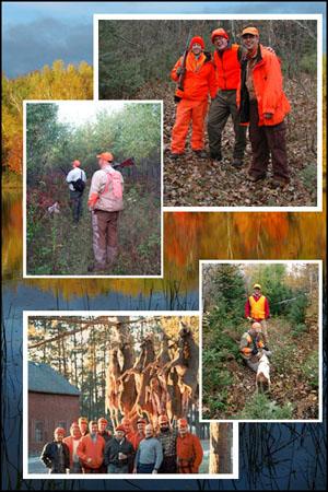 Hunting at Delta Lodge