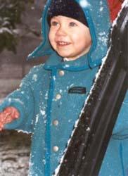 Young Ski Fan