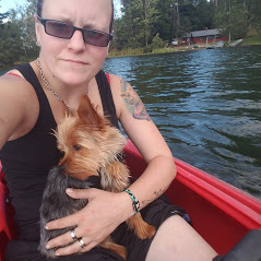 A good dog goes for a kayak ride