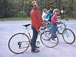 A Family Ride on The Delta Drummond Road